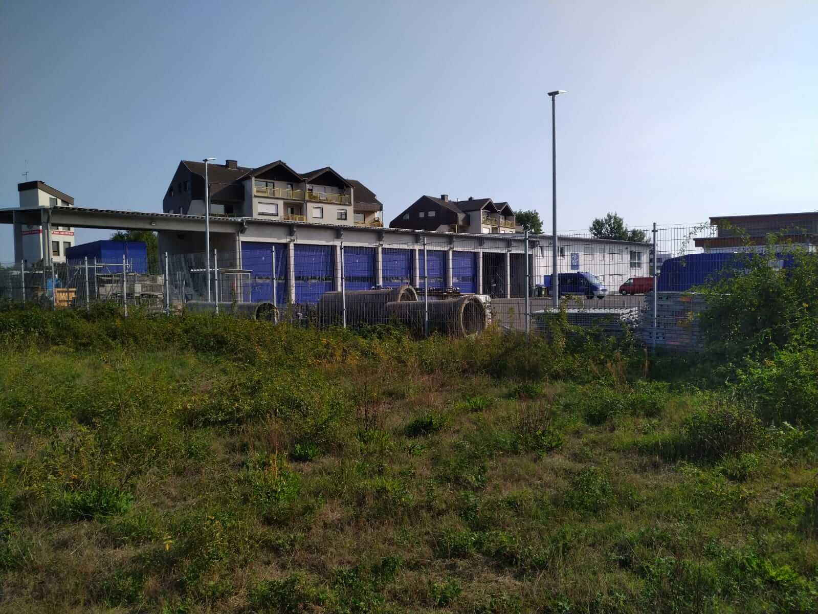 Lagerhalle & Unterkunft – THW Neuwied